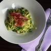 Cukkini spagetti, a tökéletes diétás vacsora :)