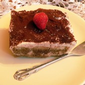 Tiramisu – glutén és tejmentes recept