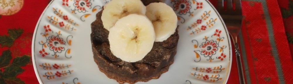 Csokis banános korong - lisztmentes