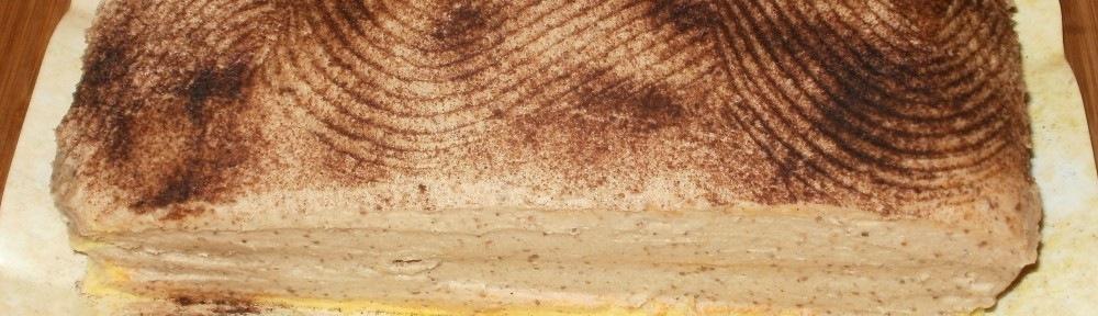 Gesztenye torta - roppanós gesztenye golyókkal
