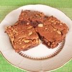 Csokis brownie, kesudióval