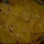 Tejben sült krumpli