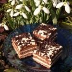 Csokis túró kocka - az én túró rudi sütim