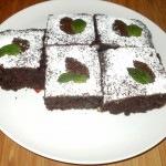 Csokis-céklás sütemény