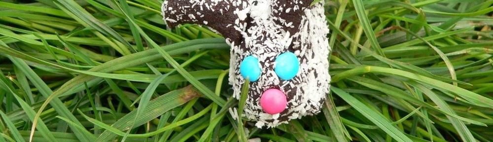 Húsvéti nyulak - kókuszgolyó helyett