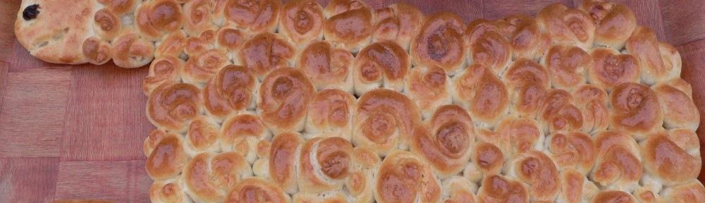 Bárány kalács - Húsvétra