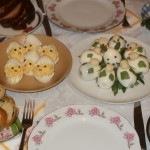 Húsvéti tojás csibék