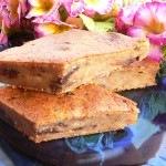 Csokis banános lisztmentes sütemény