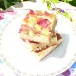 Epres-rebarbarás sütemény II.