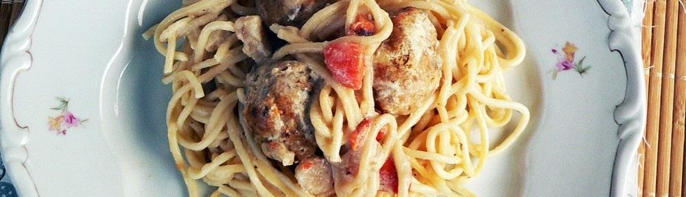 húsgolyók, hamis vadas tésztával