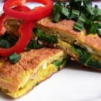 Medvehagymás omlett