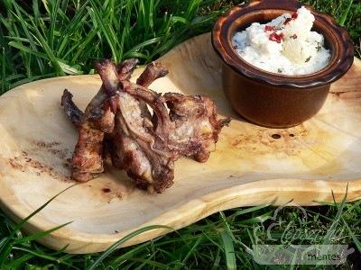 grillezett bárányborda