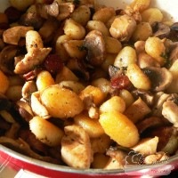 Serpenyős gnocchi