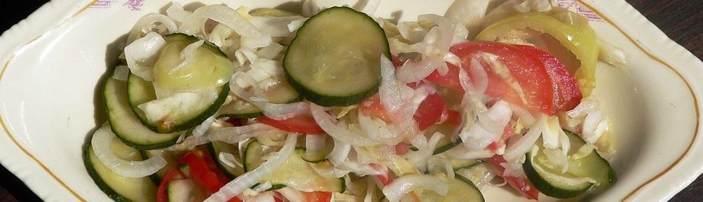 nyári édes-savanyú saláta