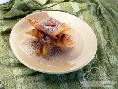 Glutén- és tejmentes forgácsfánk