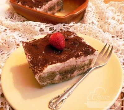 Tiramisu - glutén és tejmentes recept