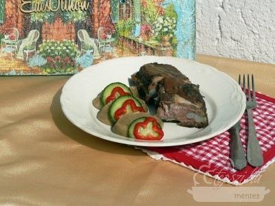 Sült oldalas egy különleges burgonyapürével