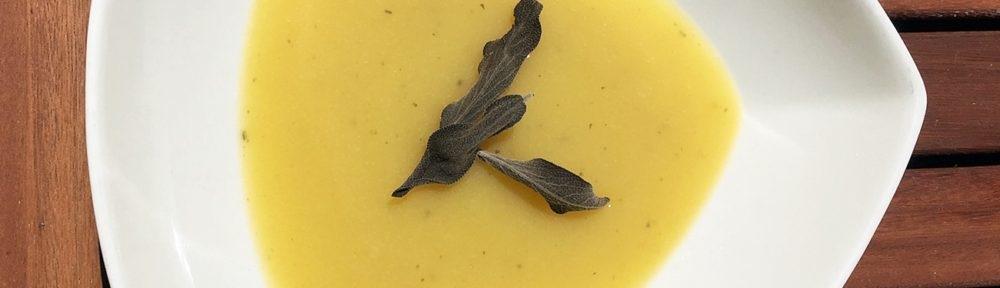 Zellerpüré leves