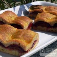 Keltes szilvás pite - paleo