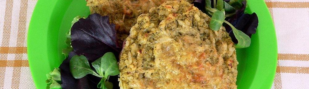 Brokkolis rizspite