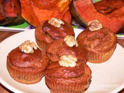 Pikáns sütőtökös muffin