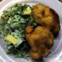 Mangó saláta - vegán rántott karfiol