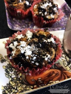 Mákos gubamuffin