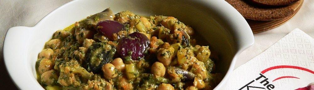 Csicseri curry medvehagymával
