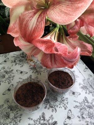 Paleo csokis pohárkrém